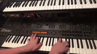 Roland JD 800 Jean Michel Jarre Sound Demo