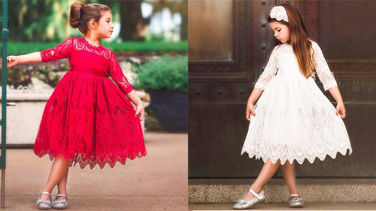 Top 5 Wedding Dress For Kid Girl Kids Dresses For Girls Clothes Wedding Party Youtube