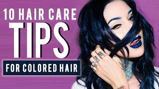 HOW TO KEEP YOUR HAIR COLOR FROM FADING | Kristen Leanne