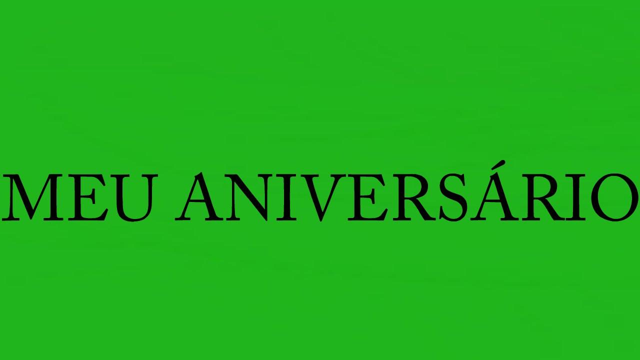 Feliz Aniversário Pra Mim Youtube