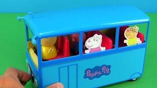 Peppa Pig School Bus toys