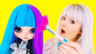 ♥ ПОКРАСИЛА ВОЛОСЫ КУКЛЕ?! + Мои Покупочки: Yves Rocher, Instax, Color Pop, Victorias Secret♥