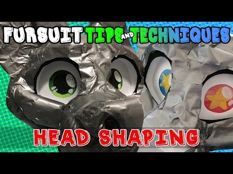 Fursuit Tips&Techniques: Face Shaping