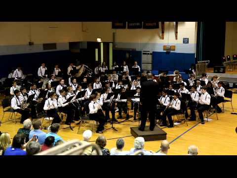 """Pirates of the Caribbean"" - RTMS 6th Grade Band - 2012 Spring Concert"