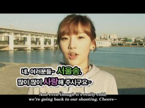 Super Junior & Girls' Generation new M/V [SEOUL] - Behind the Scenes 4/4