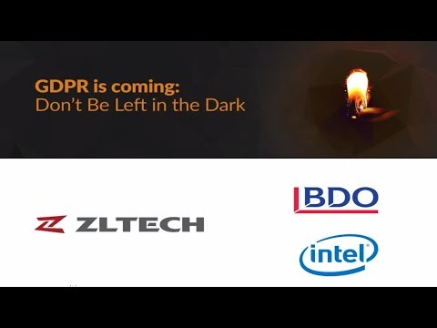 ZL Webinar: GDPR is Coming. Don't Be Left in the Dark.
