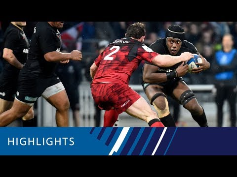Lyon v Saracens (P3) - Highlights 13.01.19