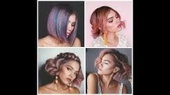 Идеи за прически средно дълга коса Beautiful Hairstyles for medium length hair #15