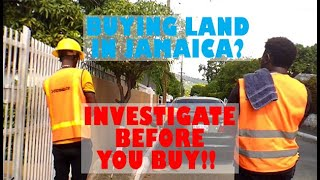 WHAT TO DO BEFORE| BUYING LAND | AS A RETURNING RESIDENT | JAMAICA |