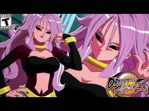 Xenoverse 2 How to ssj4 Android 21 mod from DBFZ