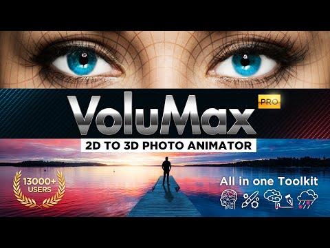 VoluMax Pro 5 2 | 2D to 3D Photo Animator | After Effects - YouTube