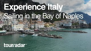 Sailing in the Bay of Naples, Italy