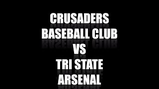 Perfect Game Super 25 Qualifier Vineland NJ Crusaders Baseball Club 15U v Tri State Arsenal 2021 Nat