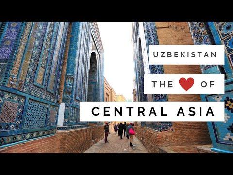Republic of Uzbekistan, the heart of Central Asia.