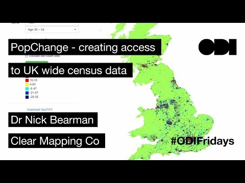 ODI Friday Lunchtime Lecture: PopChange - Creating access to UK wide census data