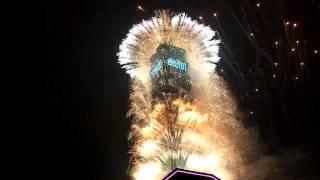 【完整清晰版】2012年 台北101跨年煙火(HD) 2012 Taipei 101 Fireworks