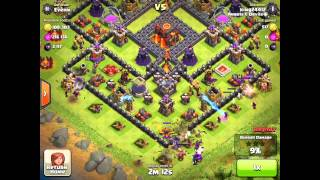 Clash of Clans 3 star GoWipe so close to 10k subscribers!
