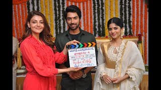 Kajal Agarwal Launches Manu Charitra Movie   Shiva Kandukuri, Megha Akash   NTV Entertainment