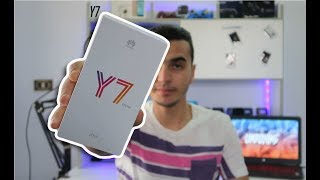 Unboxing Tunisia - Huawei Y7 Prime 2018