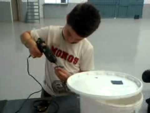Oxigenador de mosto doovi for Vivero para peces