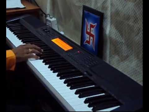 Saathiya (Singham) Instrumental - Piano Cover by Chandan Mundhra on Casio CDP 200R