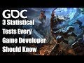 Three Statistical Tests Every Game Developer Should Know