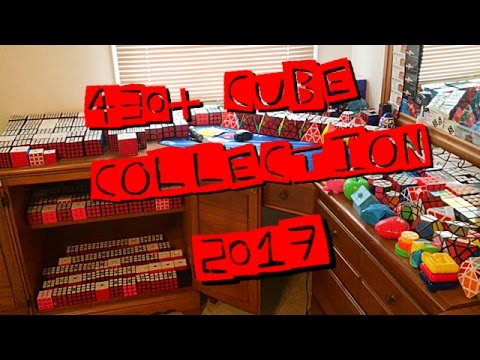 430+ Cube Collection 2017!!!!!!