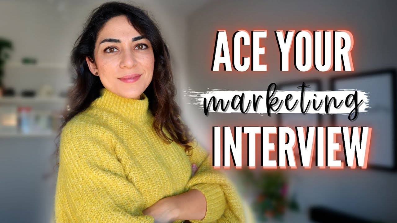 How To Prepare for a MARKETING JOB INTERVIEW  Common marketing interview questions and answers