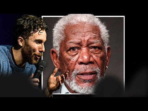 WHITE BOY SHOCKS audience with UNBELIEVABLE MORGAN FREEMAN voice impression - 동영상