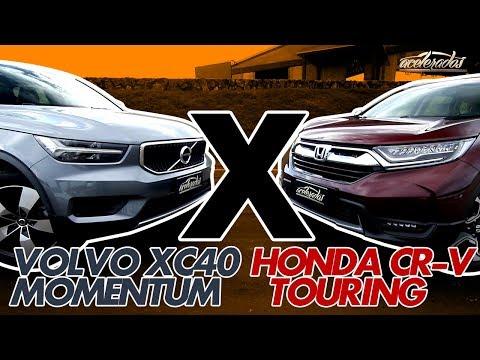 VOLVO XC40 X HONDA CR-V! QUEM VENCE O DUELO DE SUVS? - ESPECIAL #192 | ACELERADOS