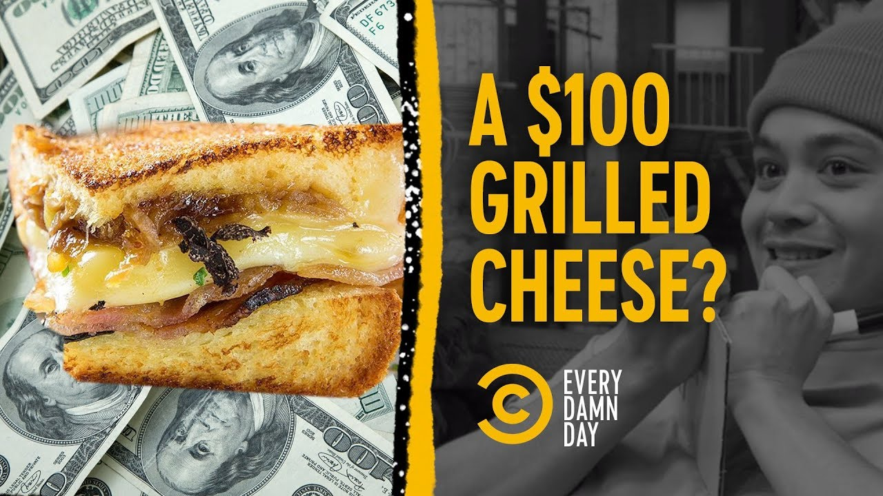 Choosing a $100 Pile of Cash vs. a $100 Grilled Cheese