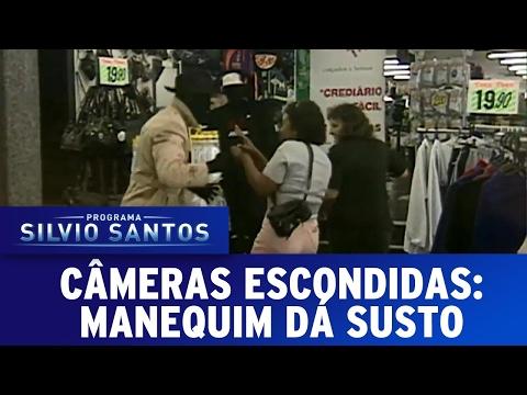 Manequim dá Susto | Câmeras Escondidas (12/02/17)