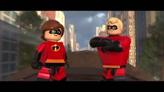 LEGO The Incredibles Live Gameplay - Lego Disney Pixar The Incredibles 2 Movie Video Game Trailer