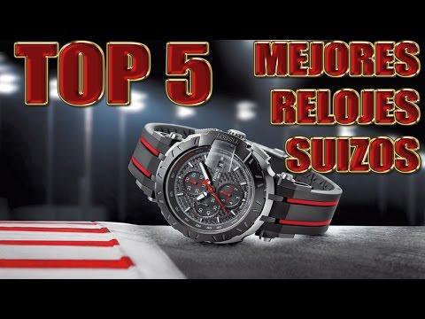 TOP 5   MEJORES RELOJES SUIZOS