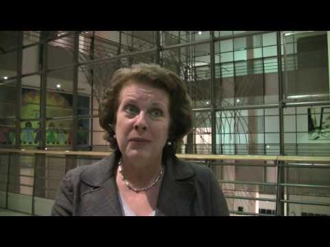 Catherine Trautmann, MEP, Governor European Internet Foundation about 'The Digital World 2025'