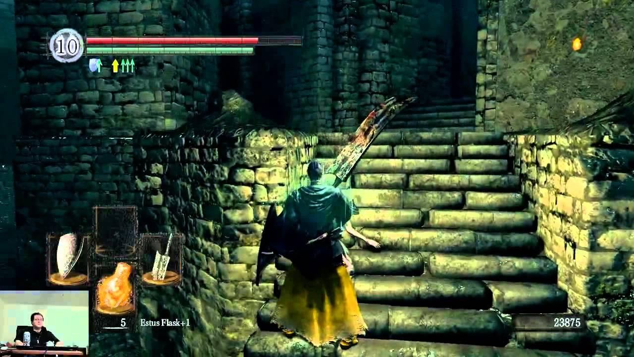 Dark Souls Bandit Man Serpent Greatsword All Bosses Youtube