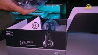 Unboxing AKG K240 MK II - Home Studio Headphones ZedoeBeats