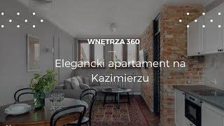 Apartament na Krakowskim Kazimierzu #projektwnętrz