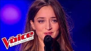 The Voice 2015│Clémence Saint Preux - Les Passantes (George Brassens)│Blind Audition
