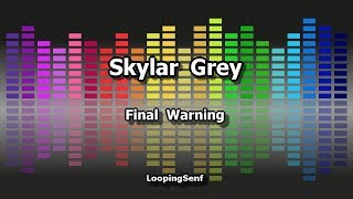 Skylar Grey - Final Warning - Karaoke