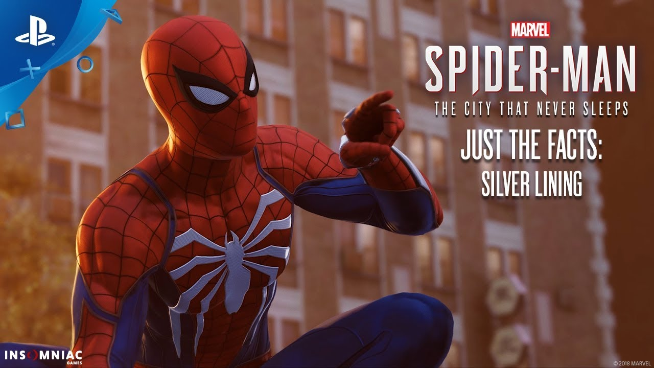 marvel's spider-man: silver lining – just the facts | ps4 - youtube