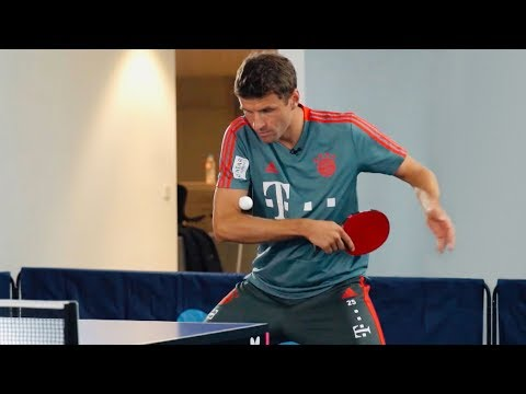 #ThoMats Challenge Tischtennis mit Timo Boll