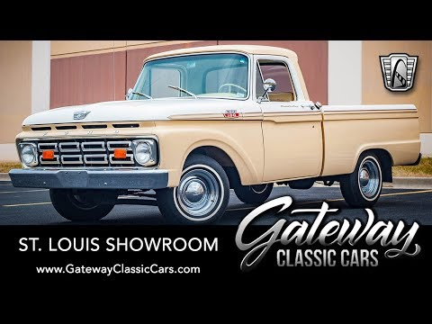 1964 Ford F100 Pickup For Sale Gateway Classic Cars St. Louis  #8320