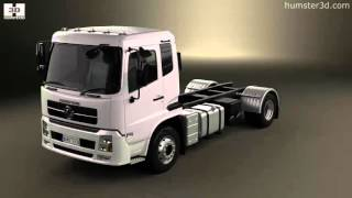 Dongfeng KR Chassis Truck 2014 3D model by Humster3D.com