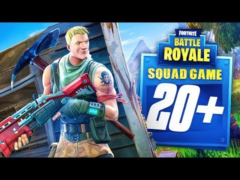 MY BEST SQUADS GAME YET! (Fortnite Battle Royale)