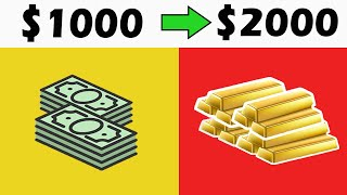 How To Invest $1000 in 2019! 5 WAYS [Turn 1k into 2k] 💥💰💰💥