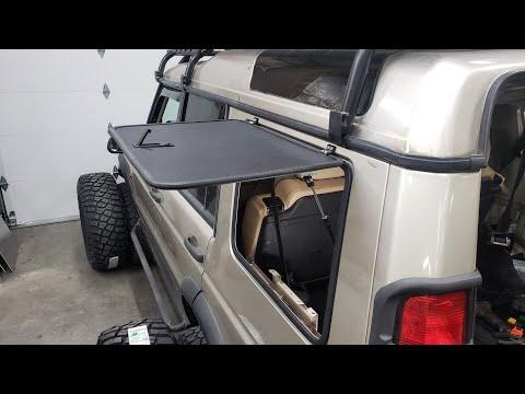 Easy DIY Gull Wing Windows! Cherokee, Land Rover, Toyota, Wrangler 4X4