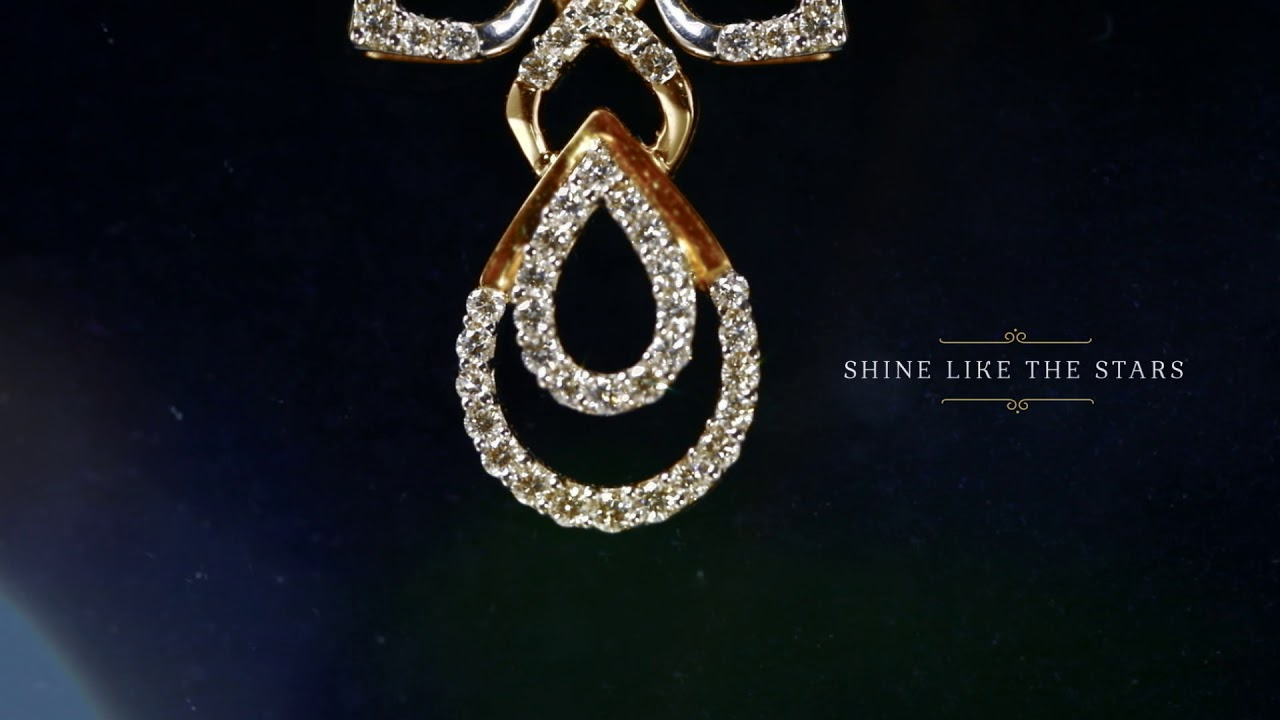Grt Jewellers Stunning Diamond Necklace Just Rs 99 900 Youtube