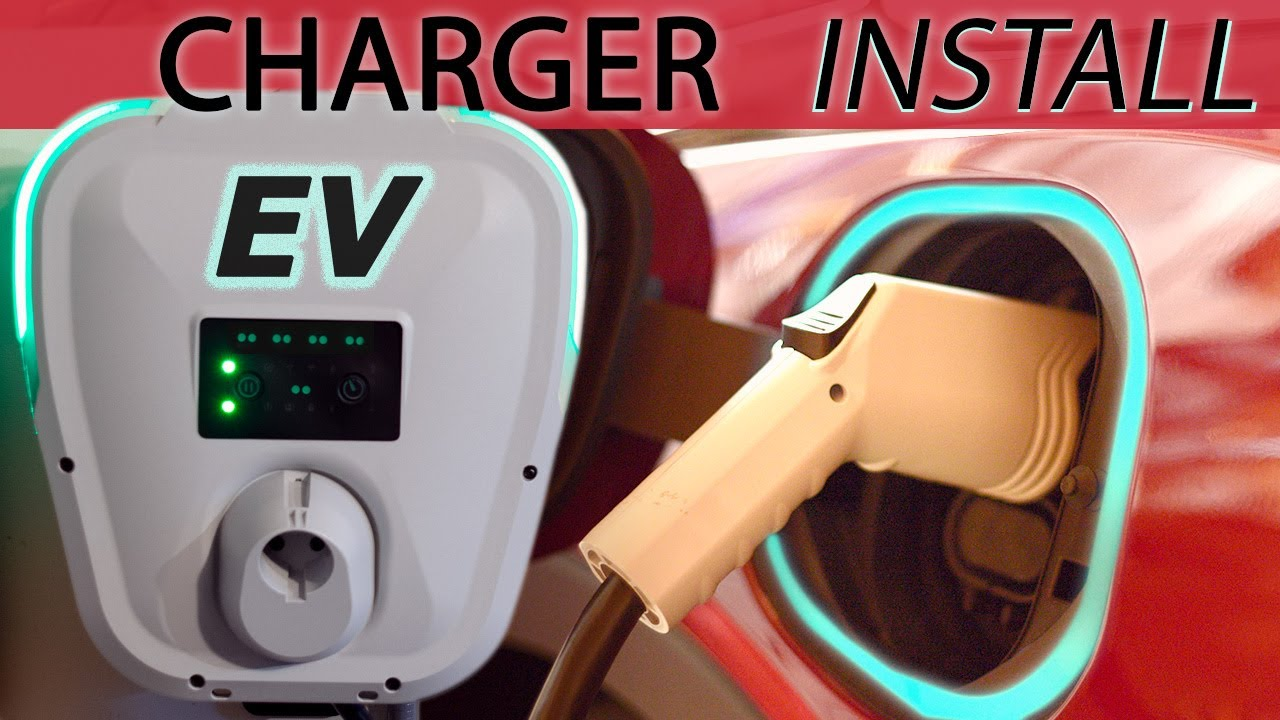 Electric Car Level 2 240 Volt Charger Installation Chevy Bolt Ev