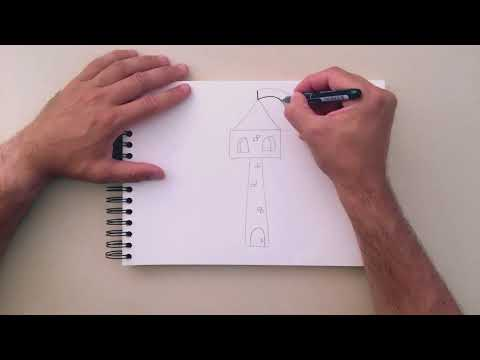 How To Draw a Castle Tower